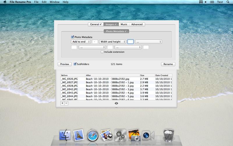 File Rename Pro screenshot