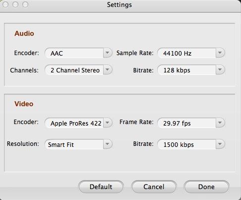 Configuring Advanced Output Settings