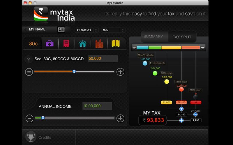 My Tax India screenshot