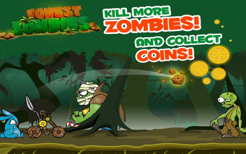 Forest Zombies screenshot