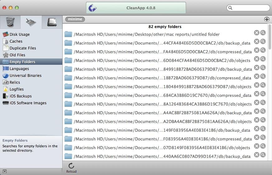 Deleting Empty Folders