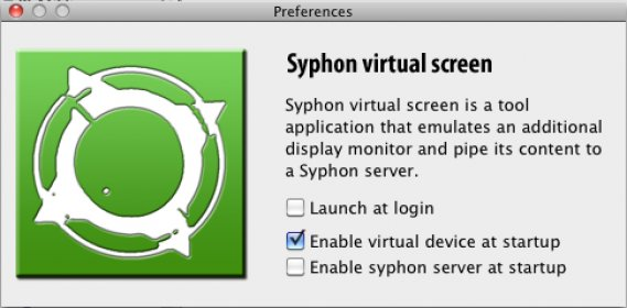Download free Syphon Virtual Screen 0 2 for macOS