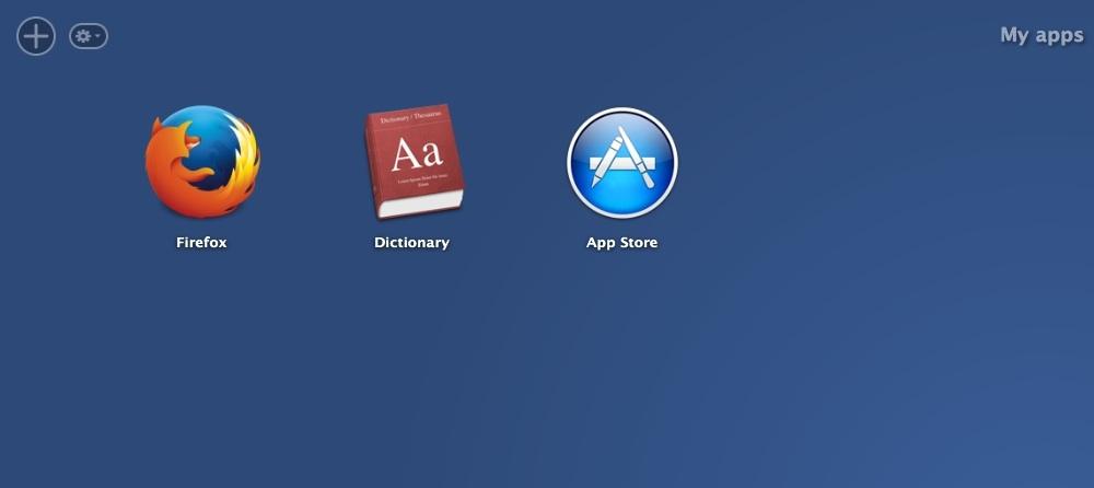 Apps List Window