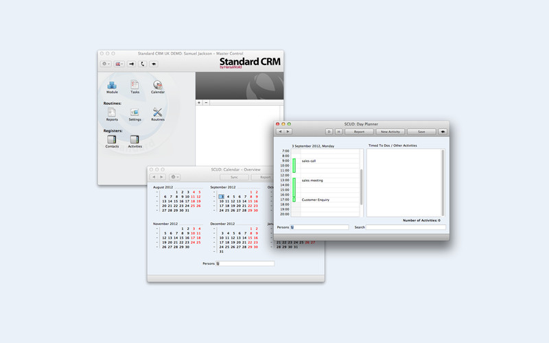 Standard CRM screenshot