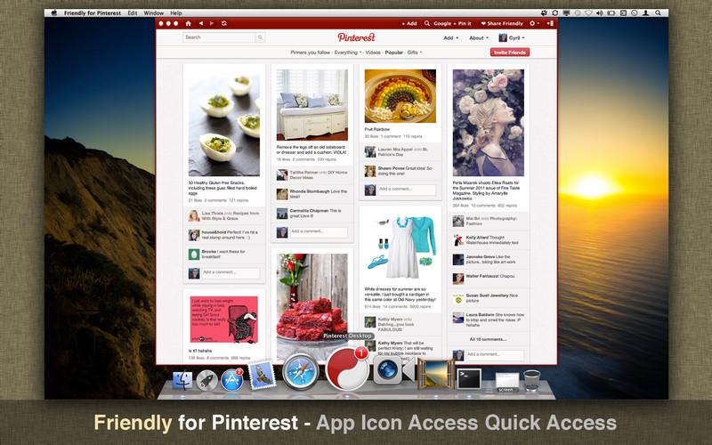 Friendly for Pinterest screenshot