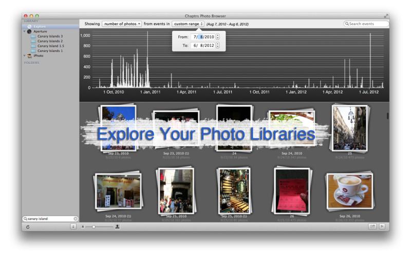 Chaptrs Photo Browser screenshot