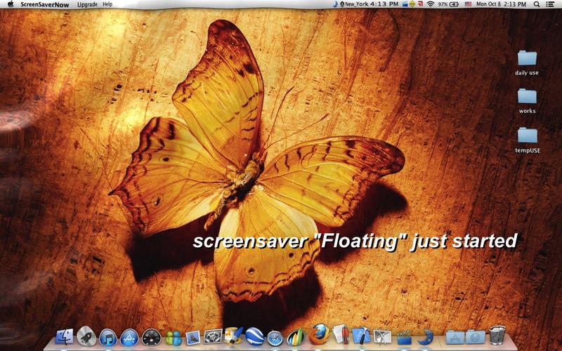 ScreenSaverNow screenshot