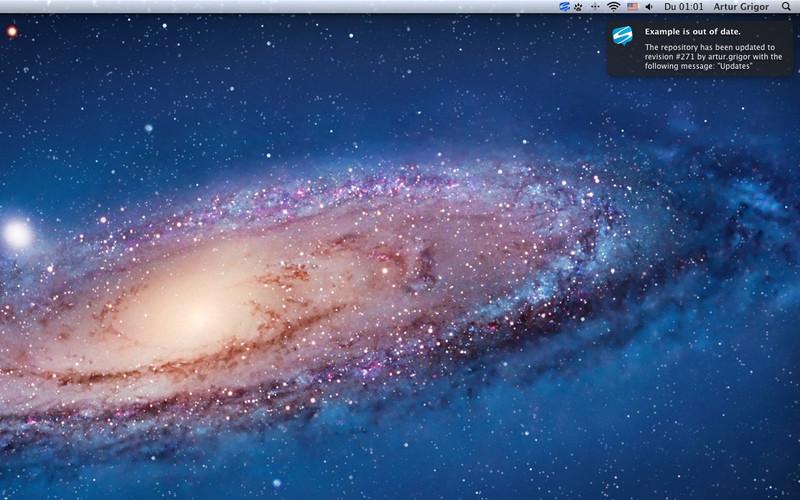SVN Notifier screenshot