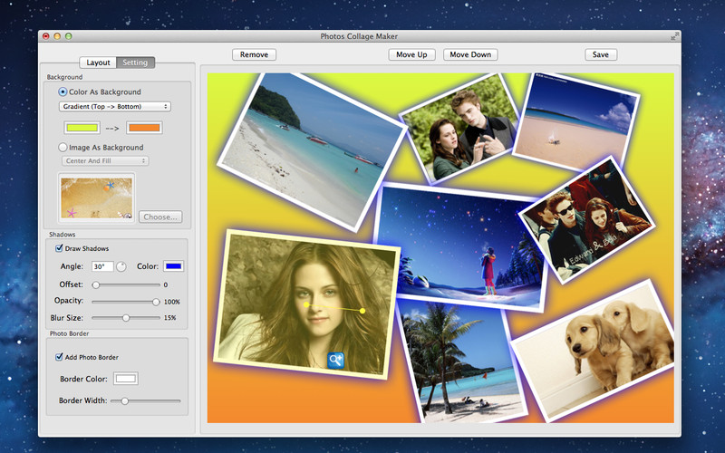 Photo Collage Maker Lite screenshot