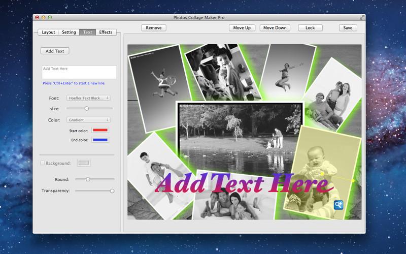 Photos Collage Maker Pro Lite screenshot