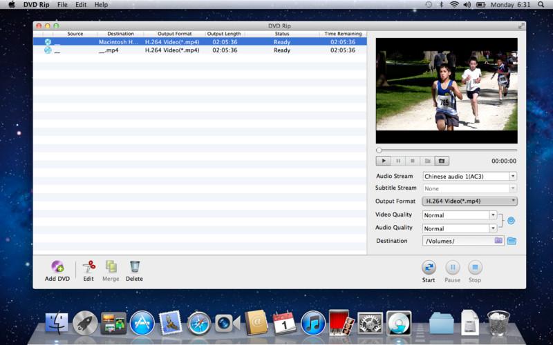 DVD Rip screenshot