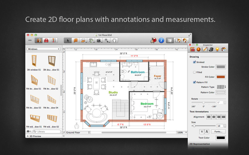 Live Interior 3D Standard Edition screenshot