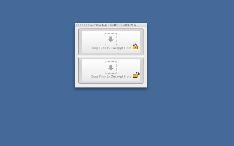 Encryption Buddy screenshot