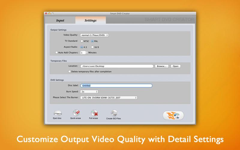 Smart DVD Creator screenshot