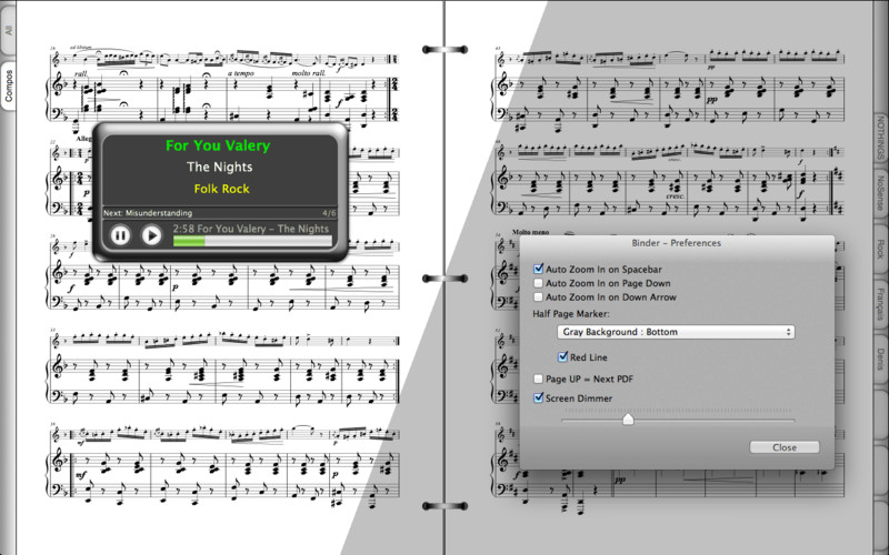 Binder 2 screenshot