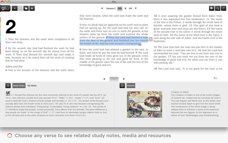 Bible Glo screenshot