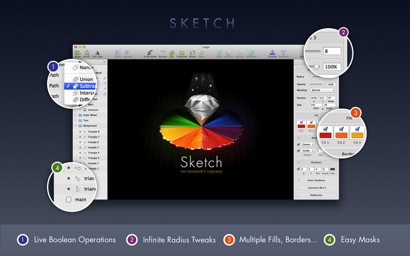 Sketch screenshot