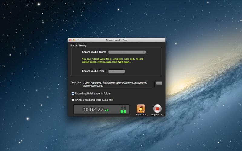 Record Audio Pro screenshot