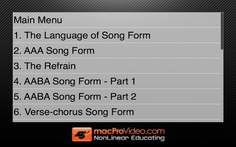 MPV's Music Theory 104 - Song Form screenshot