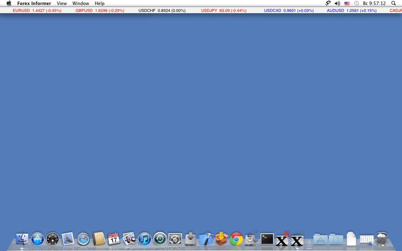 XTick Forex Informer screenshot