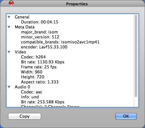 Checking Input File Information