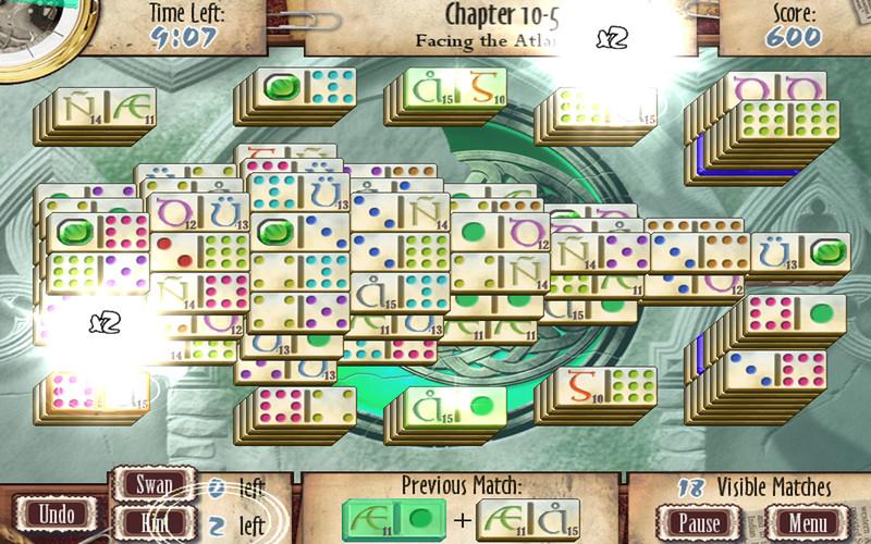 Mah-Jomino Deluxe screenshot