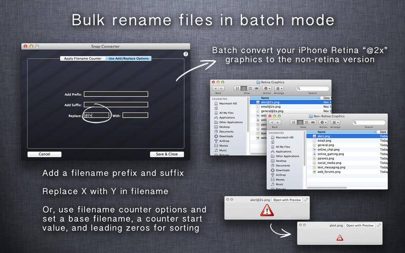 Snap Converter screenshot