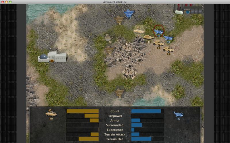 Armament 2028 Lite screenshot