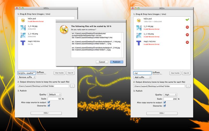 HD2x screenshot