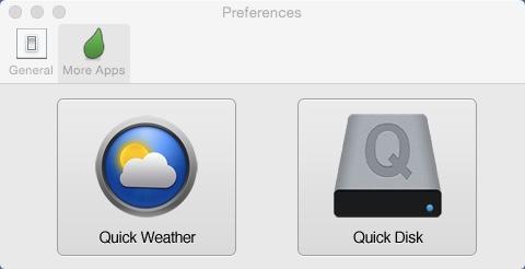 More Apps Window