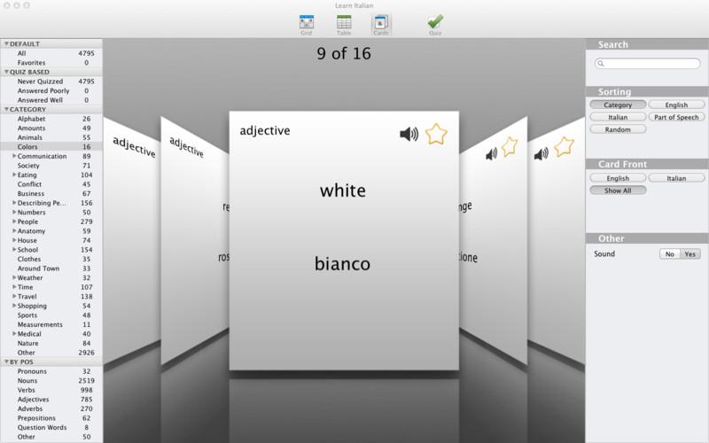 Learn Italian screenshot