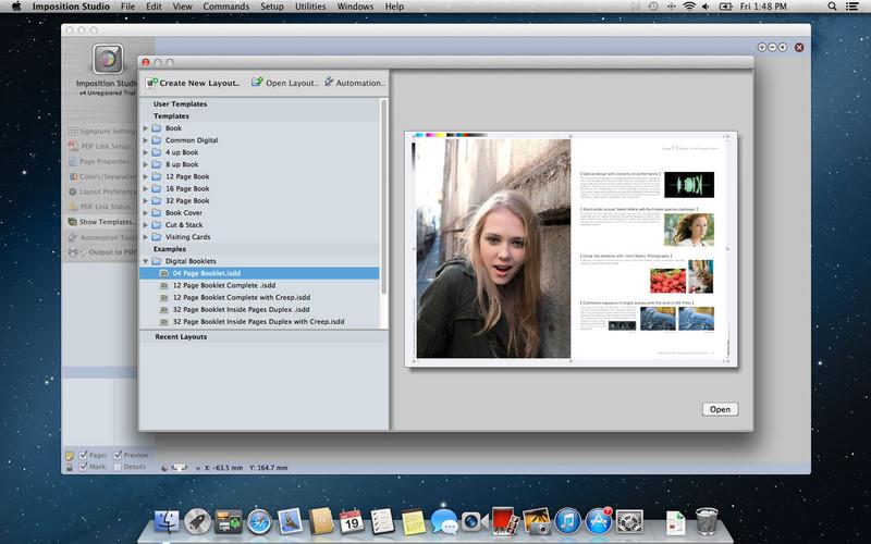 Imposition Studio screenshot