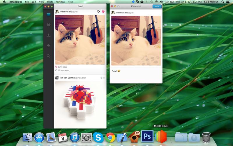 Instalicious screenshot