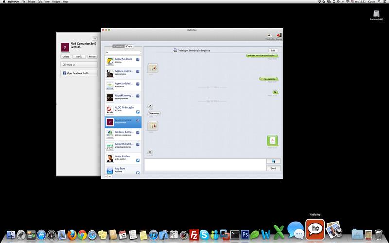 HabloApp screenshot