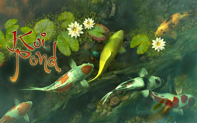 Koi Pond 3D screenshot