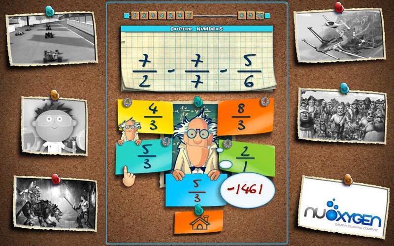 Doctor Numbers : Math Challenge screenshot