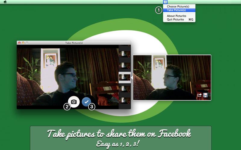 Picturito for Facebook screenshot