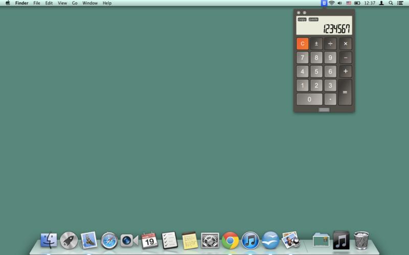 Calculator LCD Mini screenshot
