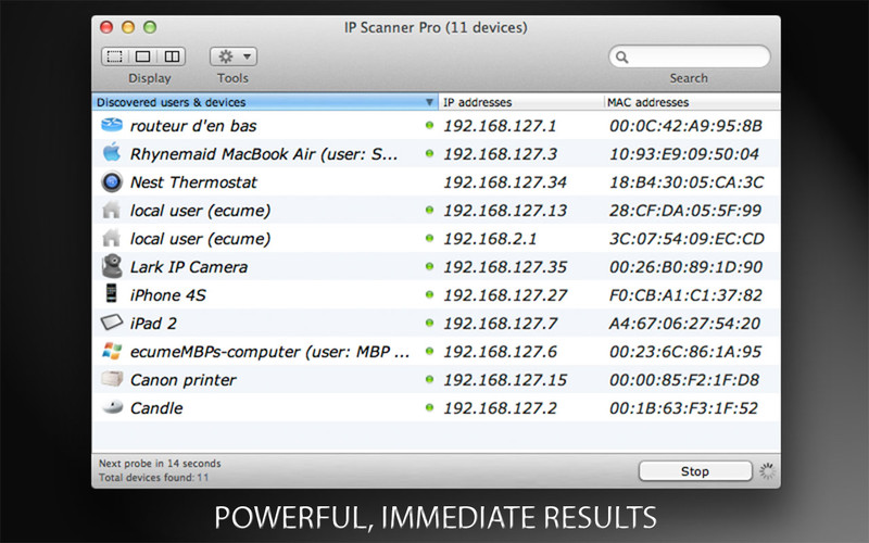 IP Scanner screenshot