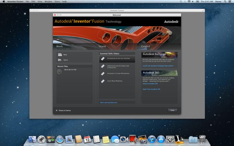 Autodesk Inventor Fusion screenshot