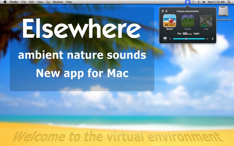 Elsewhere: Ambient Nature Sounds screenshot