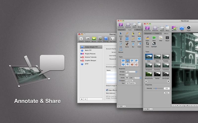 Voila: Powerful screen capture & screen recorder for Mac screenshot