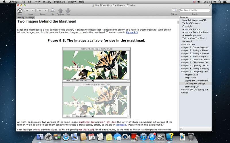 ChmPlus - CHM Reader screenshot