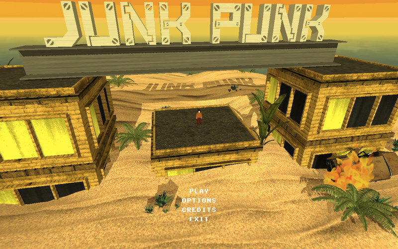 Junk Punk 3D screenshot