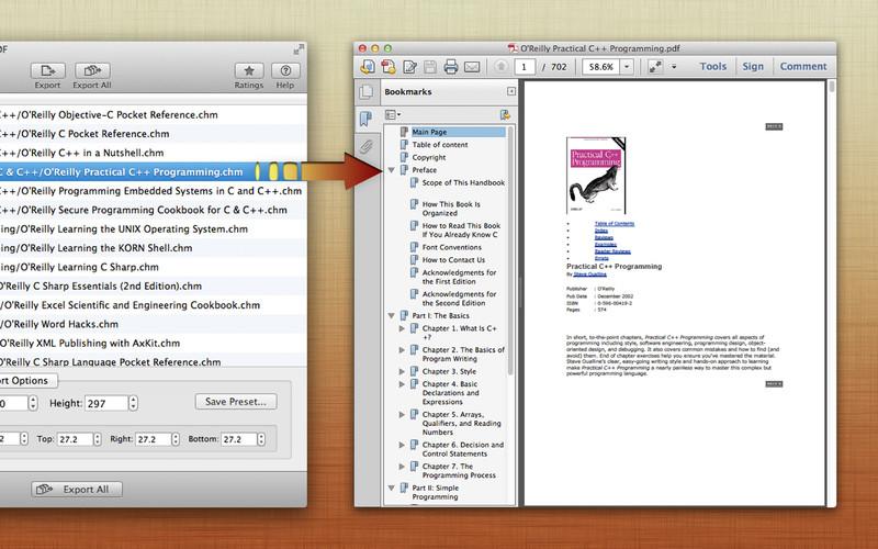CHM to PDF: The Complete CHM to PDF Converter screenshot