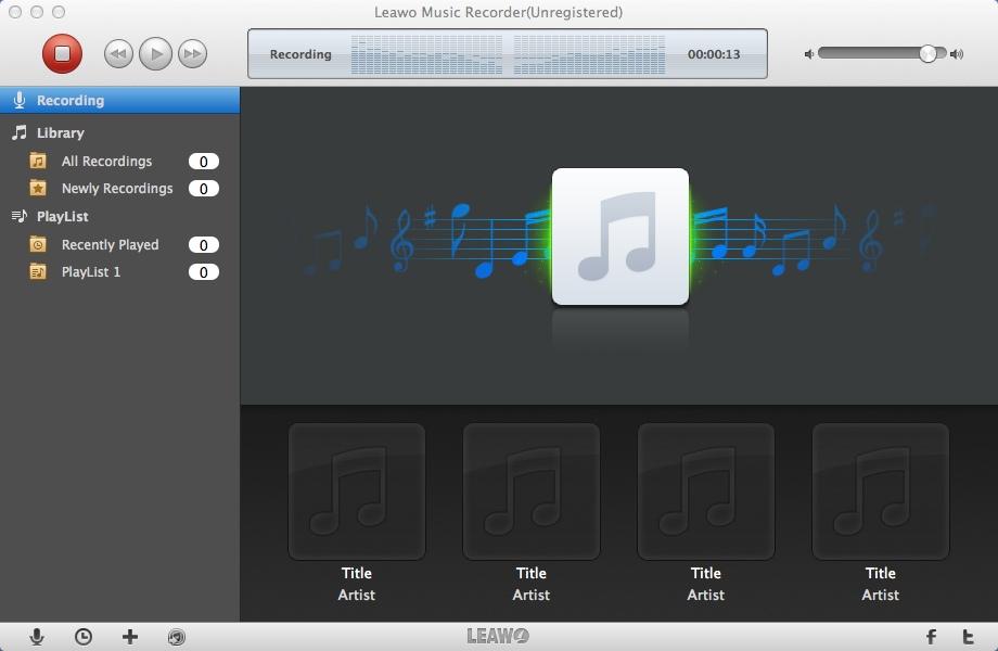 Recording Audio Content