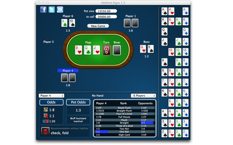 Hold'em Signs screenshot