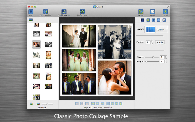 Photo Collage Maker - CollageFactory Free screenshot