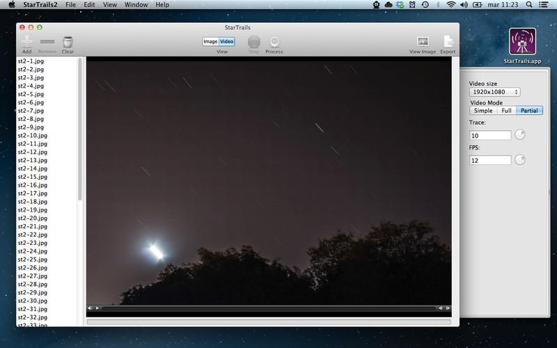 Star Trails screenshot