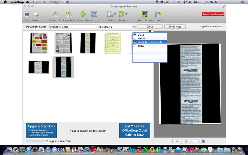 ScanDrop Lite screenshot